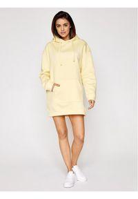Sprandi Bluza SS21-BLD007 Żółty Regular Fit. Kolor: żółty