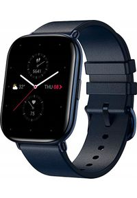 Niebieski zegarek Huami smartwatch