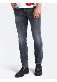 Szare jeansy Guess