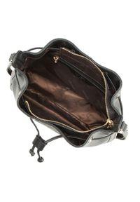Czarna torebka worek Wittchen na ramię, duża #6