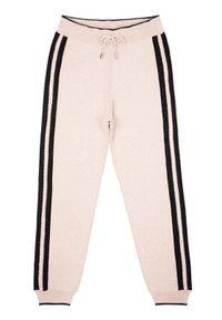 Liu Jo Kids Spodnie dresowe Maglia Lungo CA G69216 MA09E Różowy Regular Fit. Kolor: różowy. Materiał: dresówka