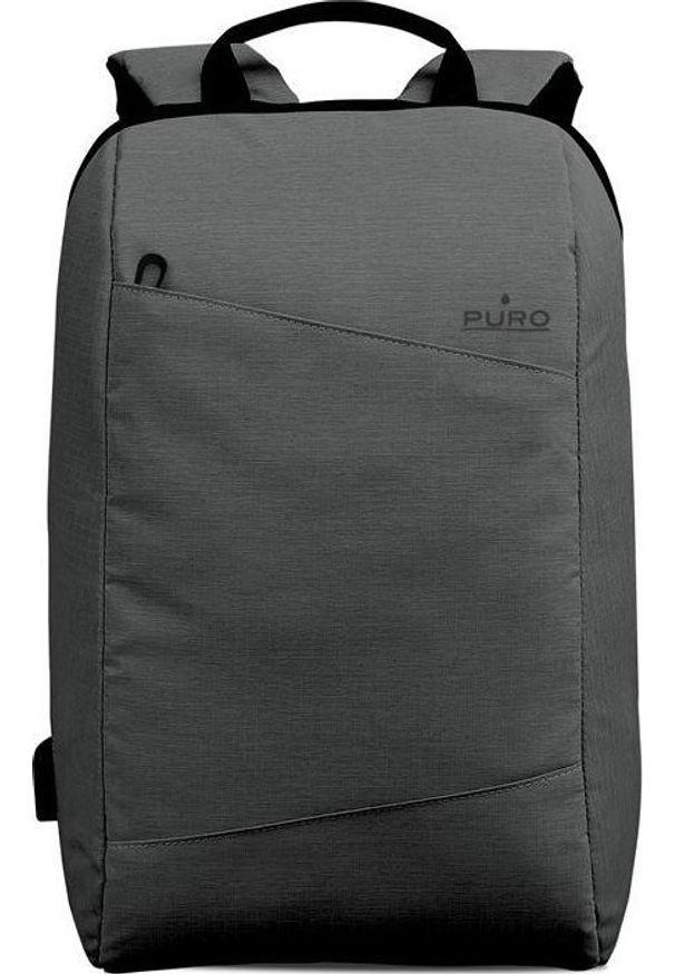Szary plecak na laptopa Puro