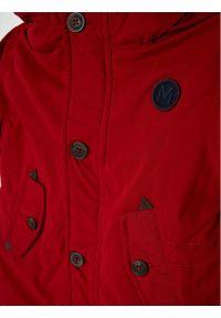Mayoral Kurtka zimowa 2481 Bordowy Regular Fit. Kolor: czerwony. Sezon: zima