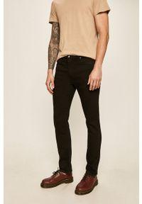 Czarne jeansy Levi's® z aplikacjami