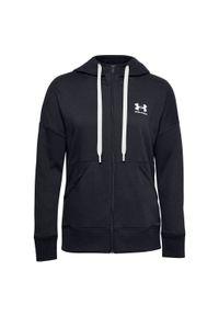 Bluza damska Under Armour Rival Fleece Full Zip Hoodie 1356400. Typ kołnierza: kaptur. Materiał: bawełna, polar, poliester. Sport: fitness