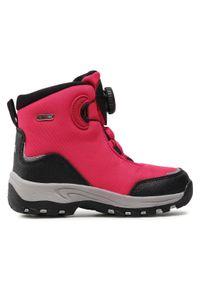 Reima - Śniegowce REIMA - Orm 569434 4650. Okazja: na spacer. Kolor: różowy. Materiał: skóra, materiał. Szerokość cholewki: normalna. Sezon: zima #5