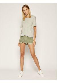 Calvin Klein Underwear Komplet 2 t-shirtów Statement 1981 000QS6198E Szary Regular Fit. Kolor: szary