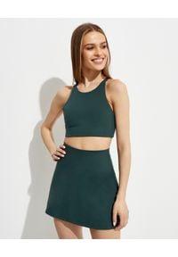 GIRLFRIEND COLLECTIVE - Zielony top Topanga Moss. Kolor: zielony. Materiał: tkanina, poliester. Długość rękawa: na ramiączkach