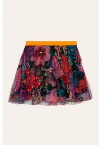 Wielokolorowa spódniczka Desigual w kwiaty