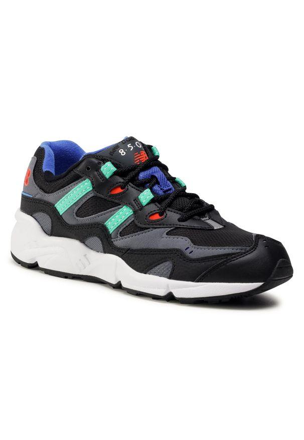 Czarne buty sportowe New Balance z cholewką