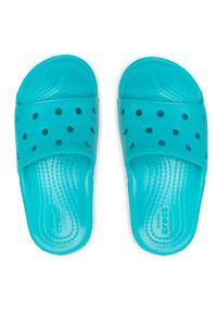 Crocs Klapki Classic Crocs Slide K 206396 Niebieski. Kolor: niebieski