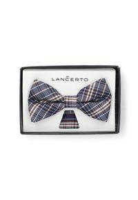 Muszka Lancerto w kratkę, elegancka