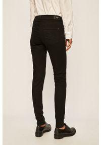 Czarne spodnie materiałowe Pepe Jeans