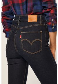 Niebieskie jeansy Levi's® na spotkanie biznesowe, z aplikacjami, biznesowe
