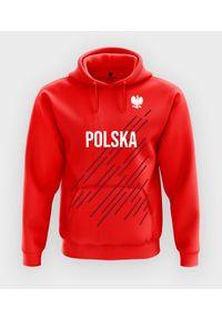 MegaKoszulki - Bluza z kapturem Mistrzostwa Euro 2020 + Twoje nazwisko. Typ kołnierza: kaptur