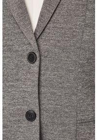 Szary płaszcz only klasyczny, na co dzień