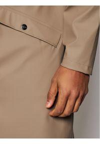 Brązowa kurtka przeciwdeszczowa Rains