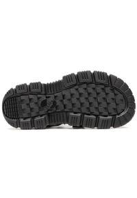 Shaka - Sandały SHAKA - Neo Bungy At 433146 Black. Okazja: na spacer, na co dzień. Kolor: czarny. Materiał: materiał. Sezon: lato. Styl: casual