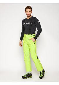 Żółte spodnie sportowe Rossignol narciarskie