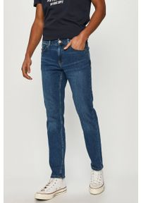 Niebieskie jeansy Cross Jeans casualowe, na co dzień