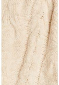 medicine - Medicine - Kardigan Glitch. Okazja: na co dzień. Kolor: beżowy. Długość rękawa: długi rękaw. Długość: długie. Styl: casual
