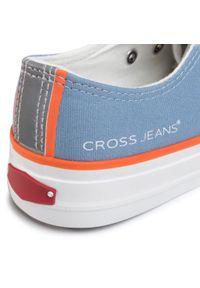 Niebieskie półbuty Cross Jeans casualowe, na co dzień
