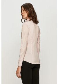 TOMMY HILFIGER - Tommy Hilfiger - Koszula. Kolor: różowy. Materiał: tkanina. Wzór: gładki