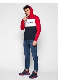 Jack & Jones - Jack&Jones Bluza Logo Blocking 12172344 Kolorowy Regular Fit. Wzór: kolorowy