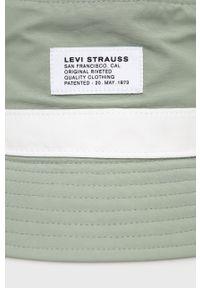 Levi's® - Levi's - Kapelusz. Kolor: zielony