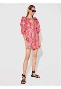 Rage Age Sukienka koktajlowa Arete 1 Czerwony Slim Fit. Kolor: czerwony. Styl: wizytowy