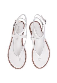 Białe sandały Sergio Bardi