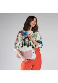 Kuferek Wittchen do ręki, w kolorowe wzory