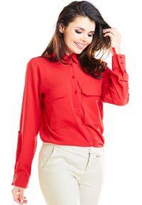 Czerwona koszula Awama