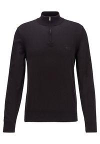 BOSS - Boss Sweter Padro-L 50419988 Czarny Regular Fit. Kolor: czarny