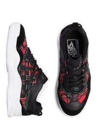 Vans - Sneakersy VANS - Varix Wc VN0A3WLNTYT1 (Plaid Mix) Red/Gr/Tr Wht. Kolor: czarny. Materiał: zamsz, skóra, materiał. Szerokość cholewki: normalna