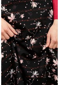 Marie Zélie - Spódnica Rachela Pioggerella. Materiał: bawełna, wiskoza, tkanina. Wzór: gładki