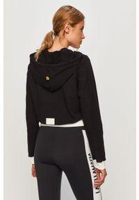 Czarna bluza LABELLAMAFIA z kapturem, casualowa, na co dzień