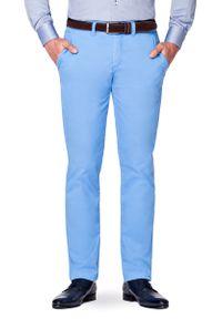 Niebieskie spodnie Lancerto na lato, klasyczne