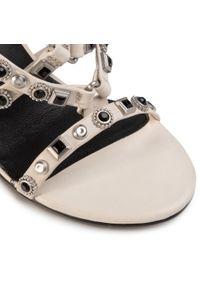 Białe sandały Bronx na co dzień, z aplikacjami, casualowe #6