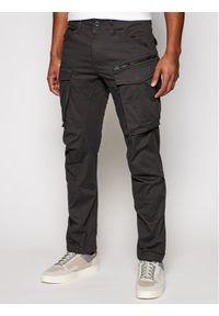 G-Star RAW - G-Star Raw Spodnie materiałowe Rovic D02190-5126-976 Szary Tapered Fit. Kolor: szary. Materiał: materiał, bawełna, elastan