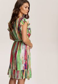 Renee - Jasnozielona Sukienka Zaehryss. Kolor: zielony