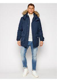 Niebieska kurtka zimowa Tommy Jeans