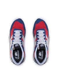 New Balance - Sneakersy NEW BALANCE - MS237AC Czerwony Granatowy. Okazja: na co dzień. Kolor: niebieski, czerwony, wielokolorowy. Materiał: skóra, materiał, zamsz. Szerokość cholewki: normalna. Styl: casual