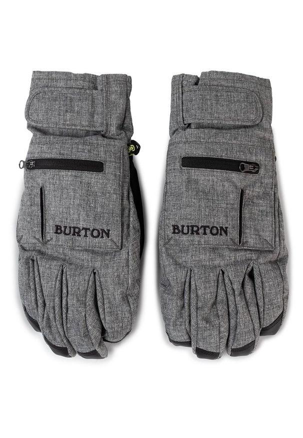 Szara rękawiczka sportowa Burton snowboardowa