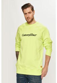 Bluza nierozpinana CATerpillar na co dzień, z aplikacjami, bez kaptura