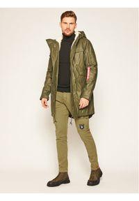 Zielone spodnie Alpha Industries