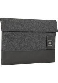 Czarne etui na laptopa Riva Case