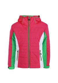 Czerwona kurtka narciarska Descente młodzieżowa