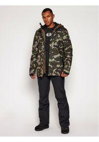 Volcom Kurtka snowboardowa Creedle2Stone G0652107 Zielony Drop Tail Fit. Kolor: zielony. Sport: snowboard