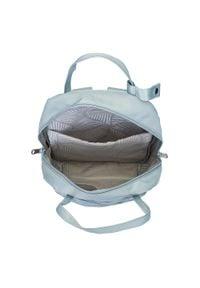 Wittchen - Damski plecak z nylonu. Kolor: niebieski. Materiał: nylon. Styl: elegancki